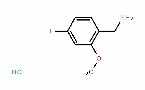 4-Fluoro-2-methoxybenzylamine hydrochloride