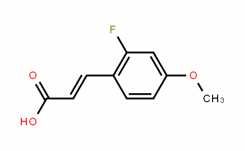 2-Fluoro-4-methoxycinnamic acid