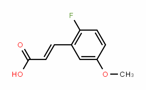 2-Fluoro-5-methoxycinnamic acid