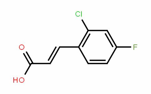 2-Chloro-4-fluorocinnamic acid
