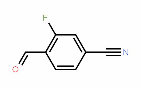 2-fluoro-4-cyanobenzaldehyde