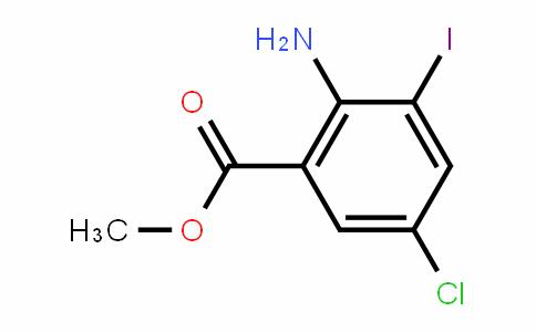 2-氨基-5-溴-3-碘苯甲酸甲酯