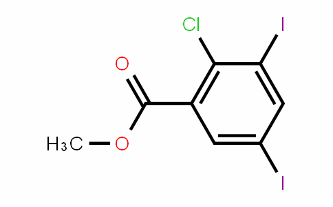 Methyl 2-chloro-3,5-diiodobenzoate