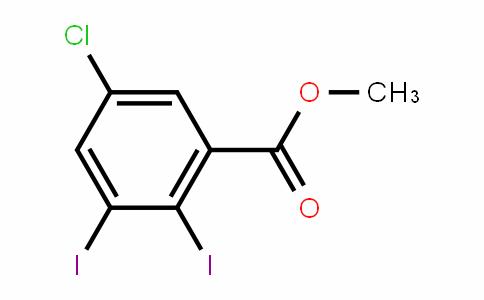 Methyl 5-chloro-2,3-diiodobenzoate