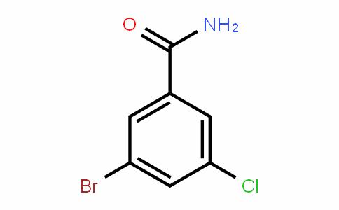 3-Bromo-5-chlorobenzamide