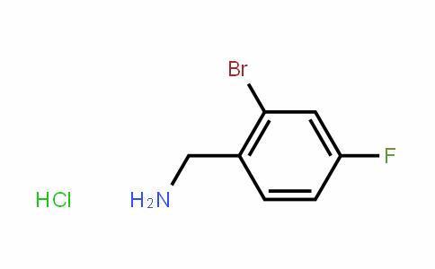 2-溴-4-氟苄胺盐酸盐
