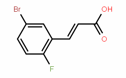 5-Bromo-2-fluorocinnamic acid