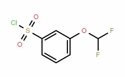 3-(Difluoromethoxy)benzenesulfonyl chloride