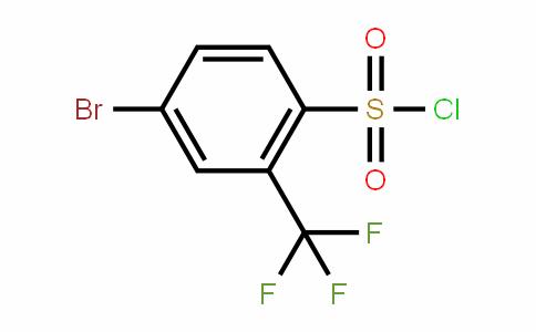 4-Bromo-2-(trifluoromethyl)benzenesulfonyl chloride
