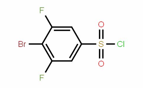 4-Bromo-3,5-difluorobenzenesulfonyl chloride