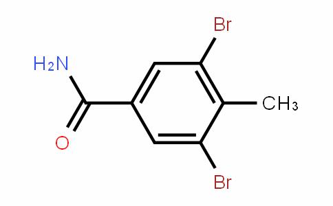 3,5-Dibromo-4-methylbenzamide