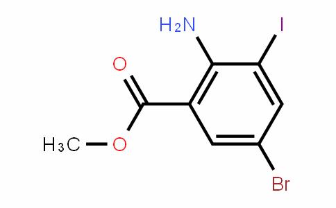 Methyl 2-amino-5-bromo-3-iodobenzoate