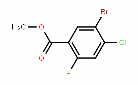 Methyl 5-bromo-4-chloro-2-fluorobenzoate
