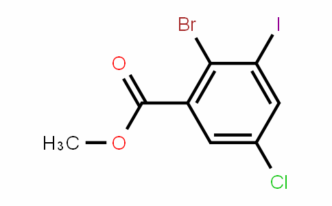 Methyl 2-bromo-5-chloro-3-iodobenzoate