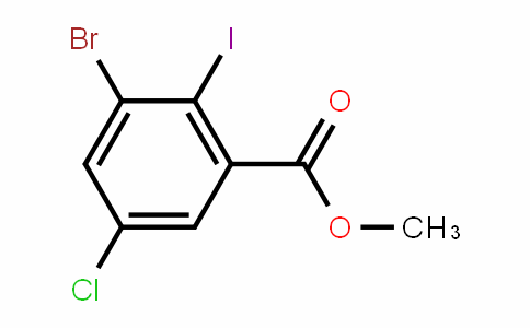 Methyl 3-bromo-5-chloro-2-iodobenzoate