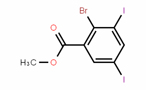 Methyl 2-bromo-3,5-diiodobenzoate