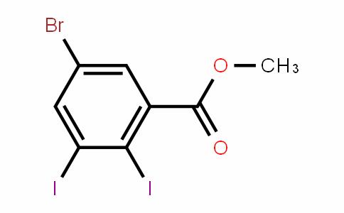 Methyl 5-bromo-2,3-diiodobenzoate