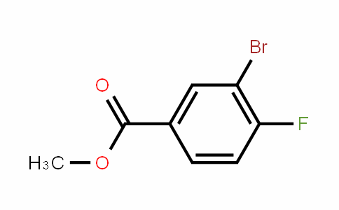 Methyl 3-bromo-4-fluorobenzoate