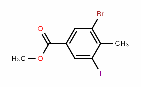 Methyl 3-bromo-5-iodo-4-methylbenzoate