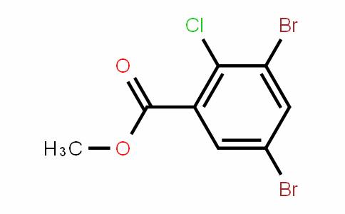 Methyl 2-chloro-3,5-dibromobenzoate