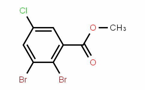 Methyl 5-chloro-2,3-dibromobenzoate
