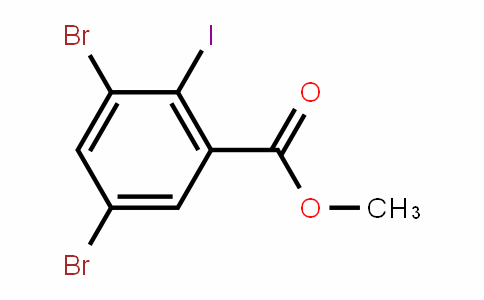 Methyl 3,5-dibromo-2-iodobenzoate
