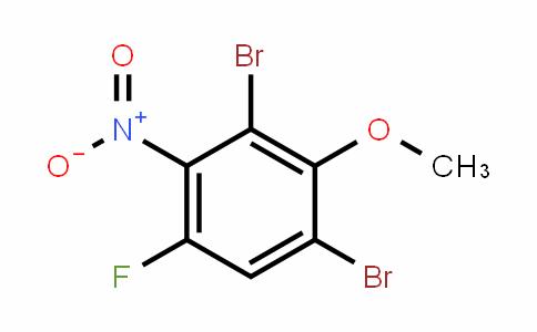 2,6-Dibromo-4-fluoro-3-nitroanisole