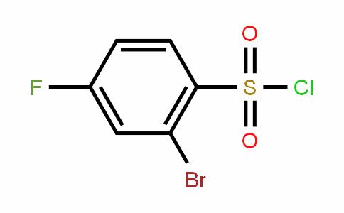 4-Fluoro-2-bromobenzenesulfonyl chloride
