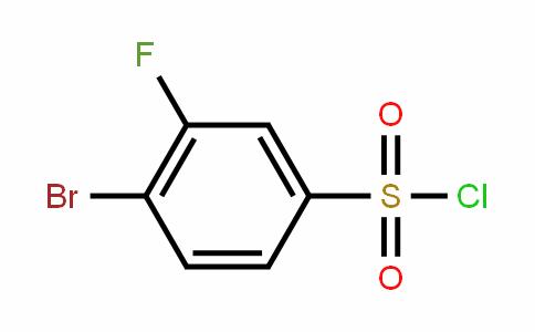 3-Fluoro-4-bromobenzenesulfonyl chloride