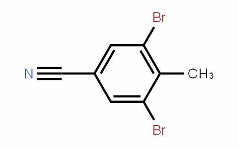3,5-Dibromo-4-methylbenzonitrile