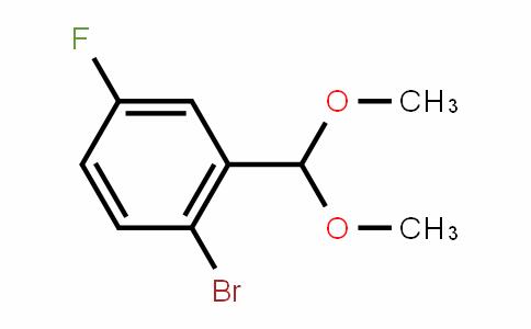2-Bromo-5-fluorobenzaldehyde dimethyl acetal