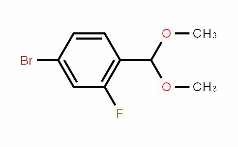 4-Bromo-2-fluorobenzaldehyde dimethyl acetal