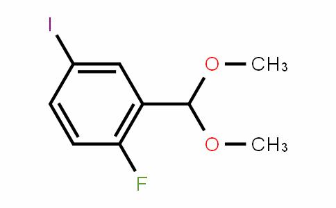 2-Fluoro-5-iodobenzaldehyde dimethyl acetal