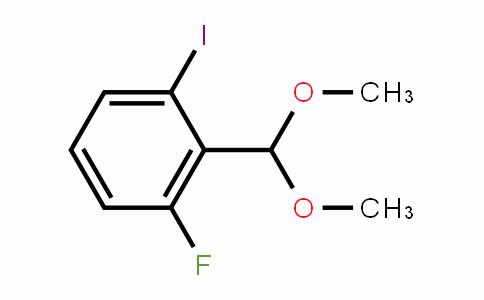 2-Fluoro-6-iodobenzaldehyde dimethyl acetal