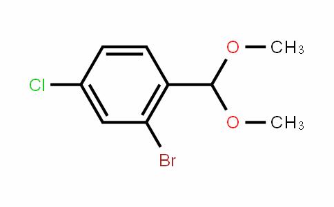 2-Bromo-4-chlorobenzaldehyde dimethyl acetal