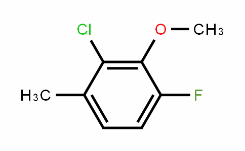 2-Chloro-6-fluoro-3-methylanisole