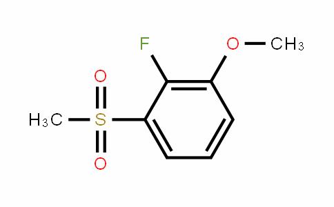 2-Fluoro-3-(methylsulphonyl)anisole