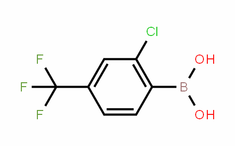 2-Chloro-4-(trifluoromethyl)benzeneboronic acid