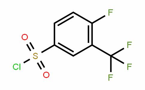 4-Fluoro-3-(trifluoromethyl)benzenesulphonyl chloride