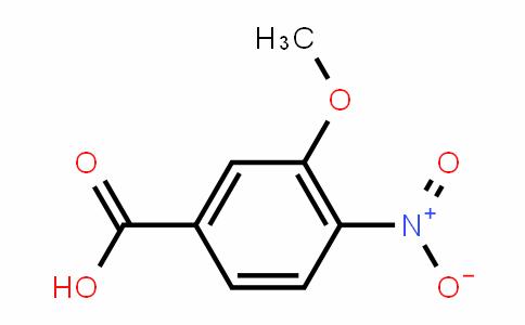3-甲氧基-4-硝基苯甲酸