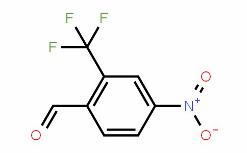 2-三氟甲基-4-硝基苯甲醛