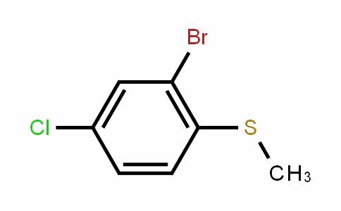 (2-Bromo- 4-chlorophenyl)(methyl)sulfane