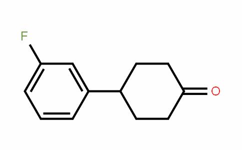 4-(3-Fluorophenyl)cyclohexanone