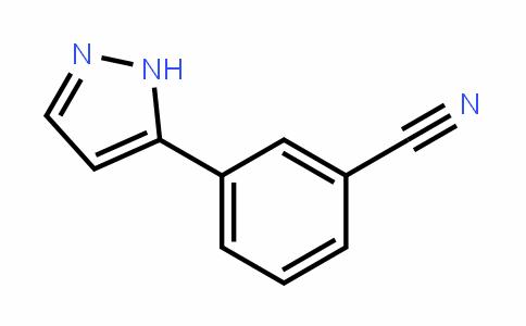 3-(2H-Pyrazol-3-yl)benzonitrile