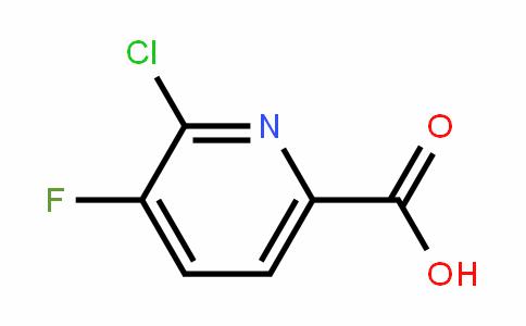 2-Chloro-3-fluoro-6-carboxypyridine