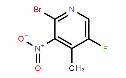 2-Bromo-5-fluoro-4-methyl-3-nitropyridine