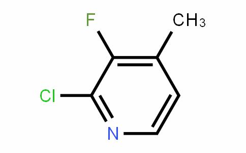 2-氯-3-氟-4-甲基吡啶