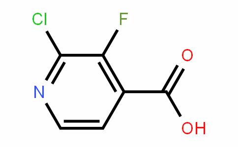2-氯-3-氟吡啶-4-羧酸