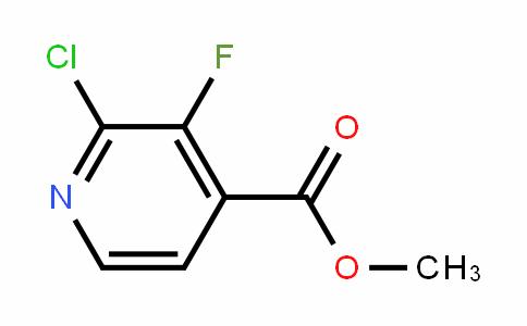 Methyl 2-chloro-3-fluoro-4-pyridinecarboxylate