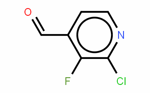 Pyridine 2-Chloro-3-fluoro-4-carboxaldehyde